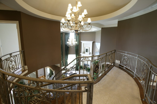 HOMEARAMA 2005:  The Chateau Cabernet contemporary-staircase