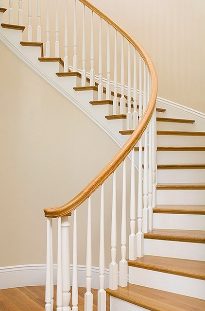 Homes by James Witt traditional-staircase