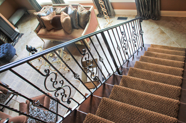 Homes of Distinction at Lost Run Farms traditional-staircase