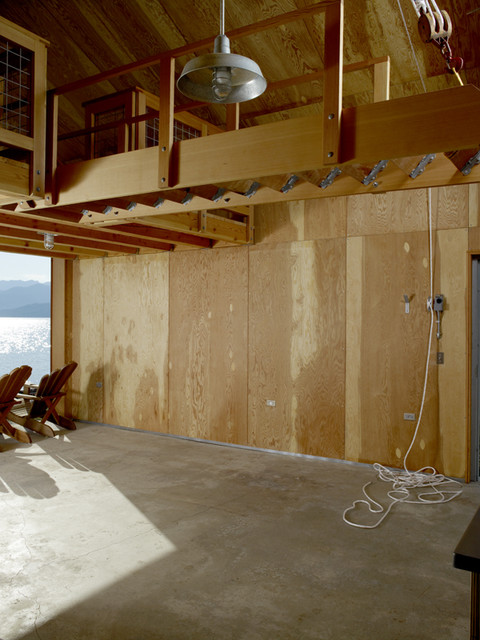 Hood Canal Boathouse Contemporary Staircase Seattle