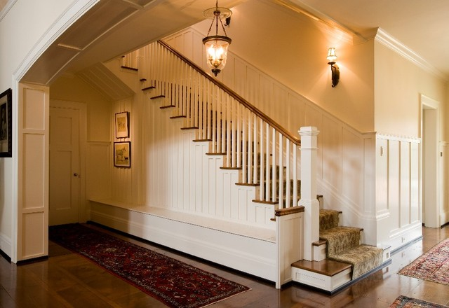 Horse Farm farmhouse-staircase