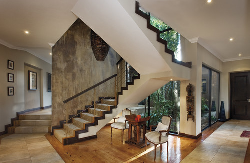Rust as a decorating tool abode - How to paint a stairway wall ...