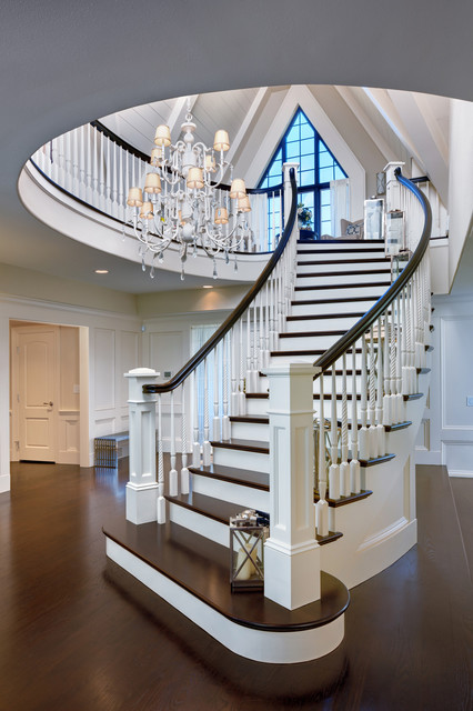 House Trends Whole House traditional-staircase