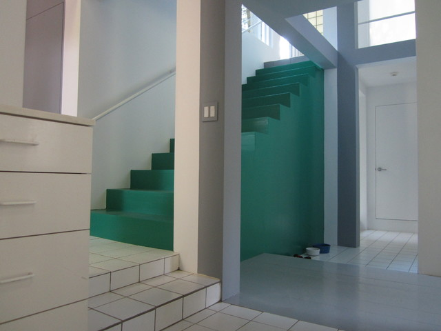 House VI - Modern - Staircase - new york - by Green View Building & Design Company, Inc.