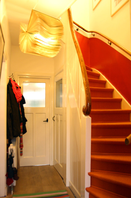Houzz Tour: Contemporary meets Character in Suburban Delft contemporary staircase