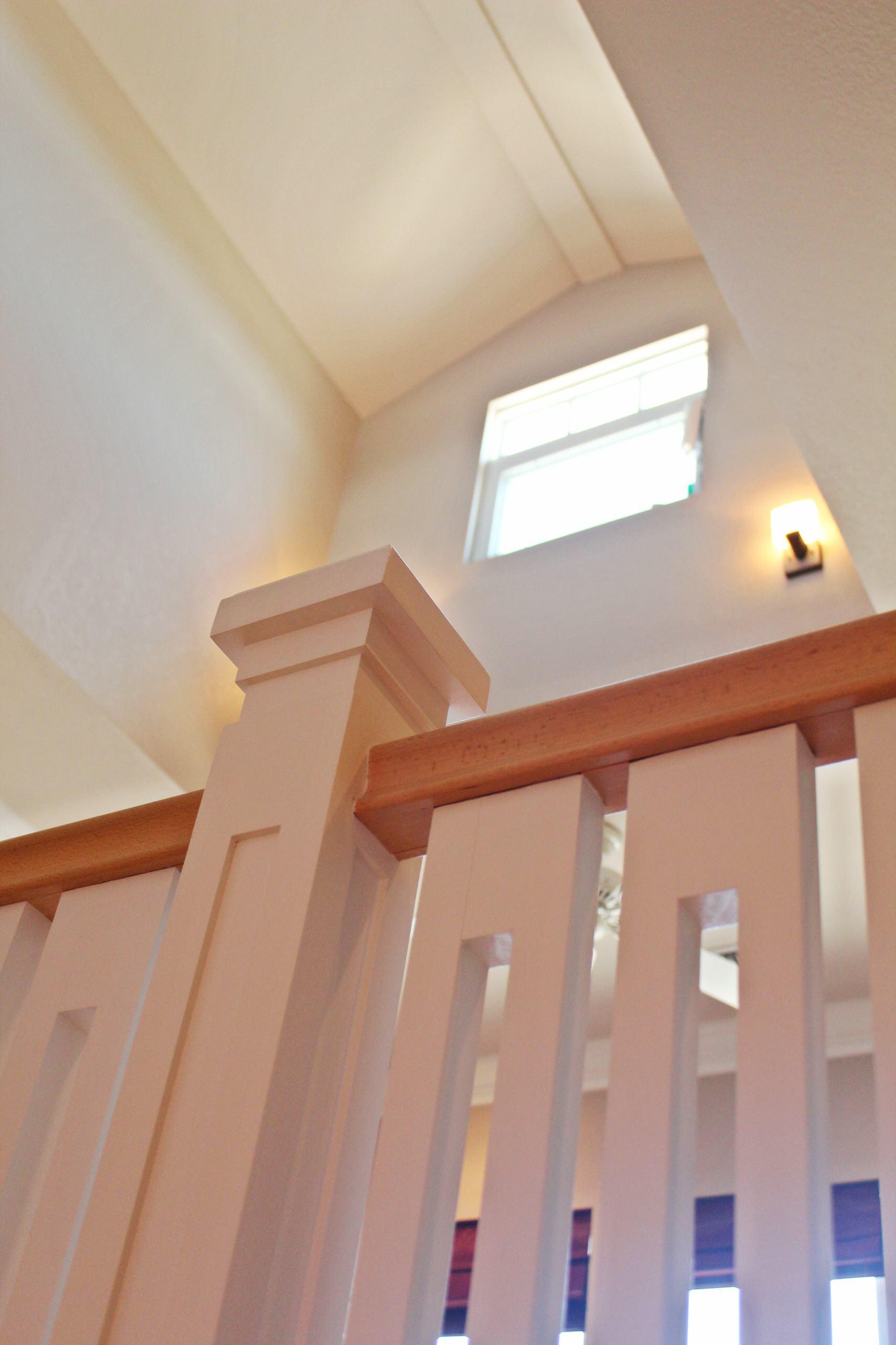 Loft with clerestory windows