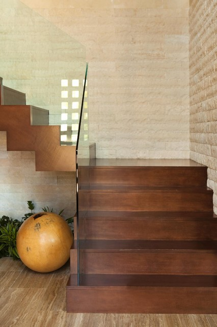 Huntington Beach contemporary staircase