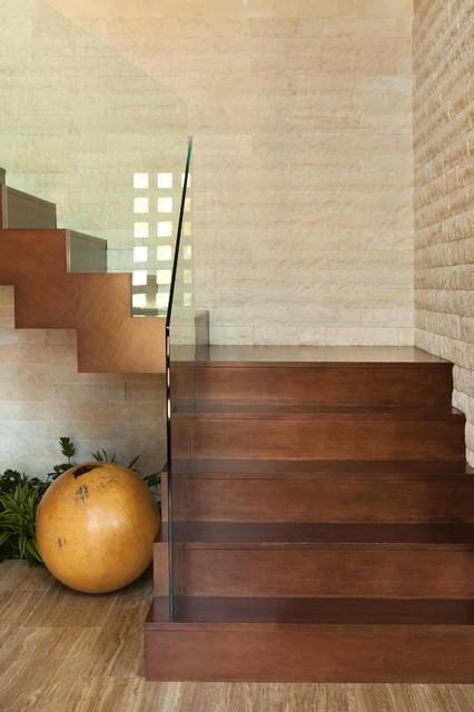 Huntington Beach contemporary-staircase