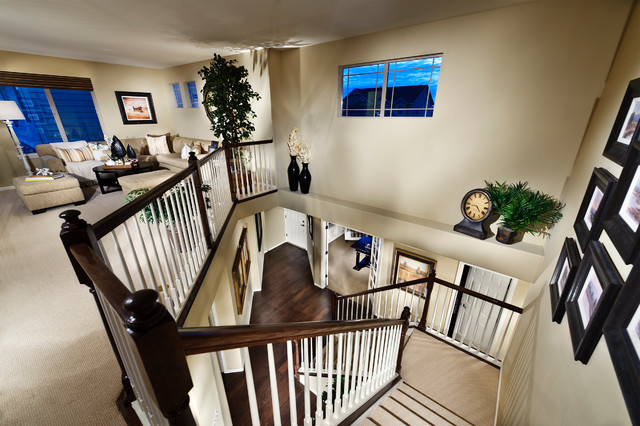 Idyllwilde Linden Model Home traditional-staircase