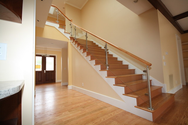 Modern Staircase Design Picture Design Stairs Modern Staircase Atlanta By Image Design Stairs