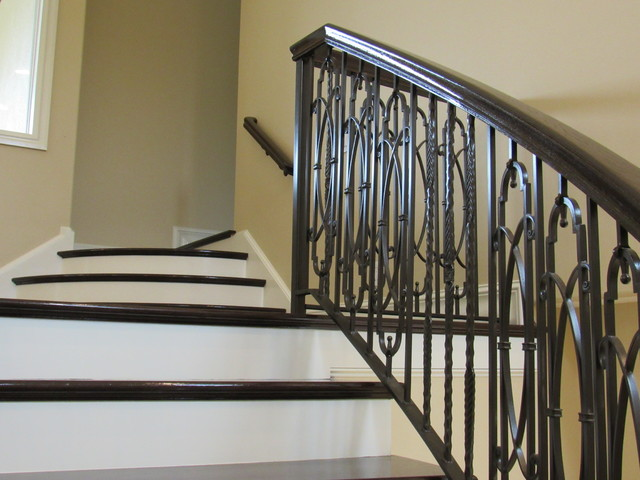 Mediterranean Staircase Tower : Imami curved stair mediterranean staircase other