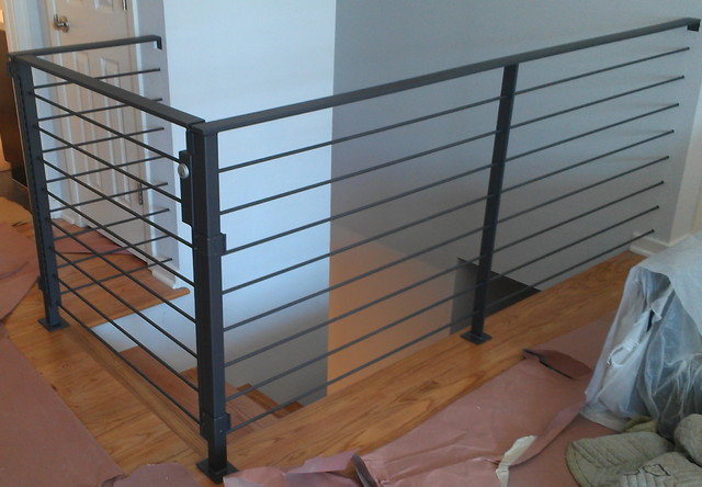 Indoor handrails contemporary staircase phoenix by