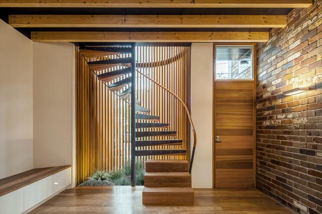 Industrial staircase for Arredare pianerottolo scale