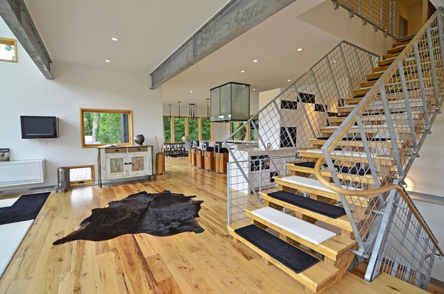Billys House contemporary staircase