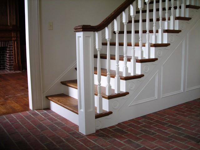 Inglenook Tile Design Traditional Staircase