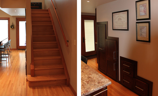Inner City Residence traditional-staircase