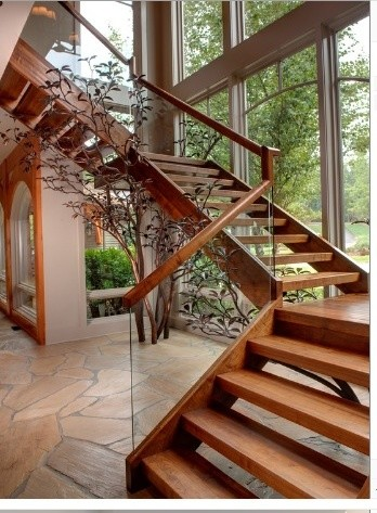 Inspirational Staircases rustic-staircase