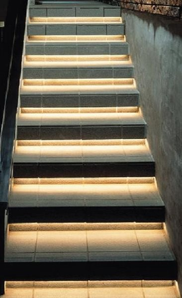 Nice Inspired LED Accent Lighting  Staircase Lighting Contemporary Staircase