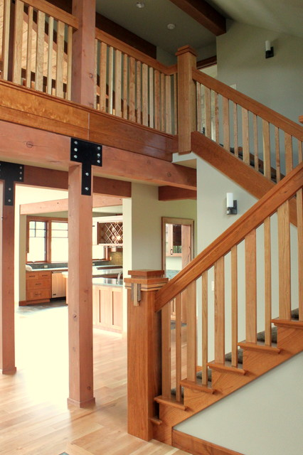 Interior Details Traditional Staircase Seattle By