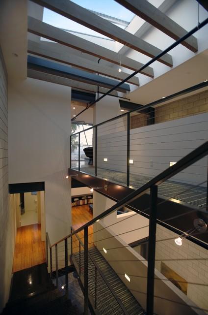Interior modern-staircase