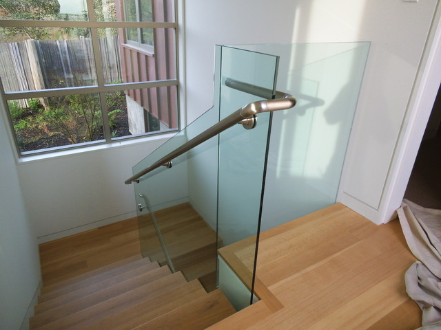Interior Glass Stairs And Handrailings Modern