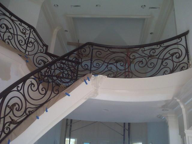 Interior Iron Handrail staircase