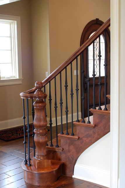 Interior traditional-staircase