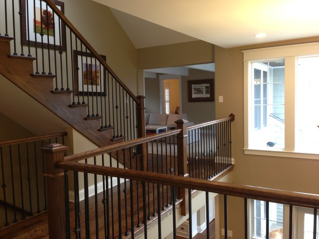 Interior Renovation traditional-staircase