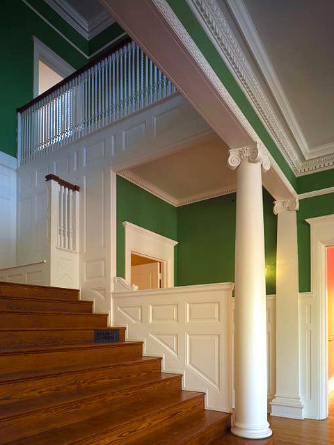 Interior Traditional Staircase Baltimore By Schamu