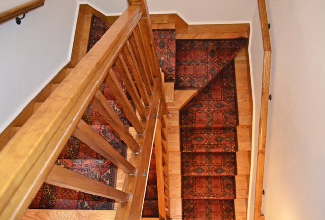 Interior Spaces traditional staircase