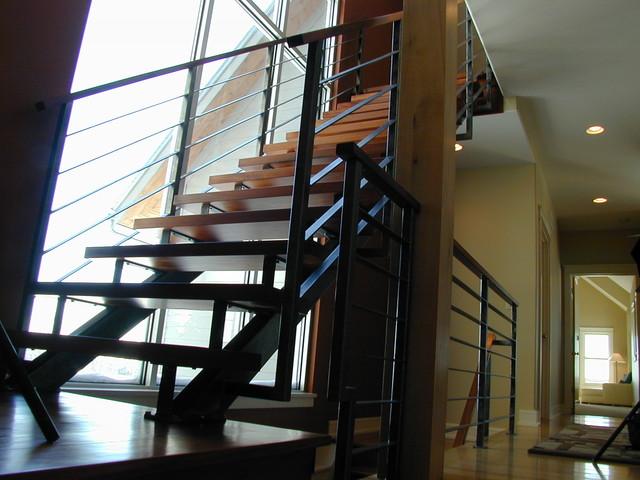interior spaces staircase