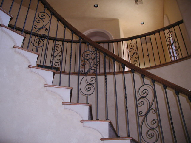 Interior Iron Stair Railings