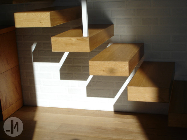 INTERIOR STAIRS modern-staircase