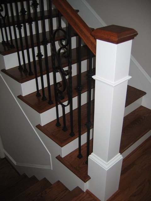 Interior stairs - Interior stair railing contractors ...