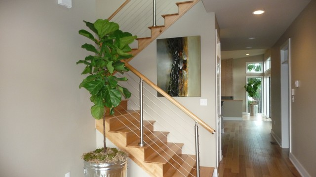 Interior contemporary-staircase