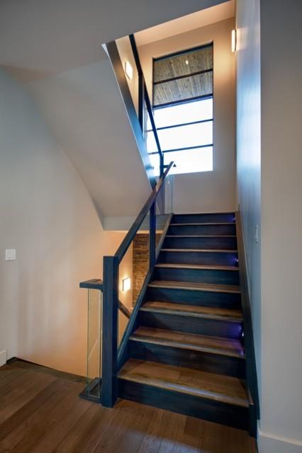 Interior contemporary-staircase