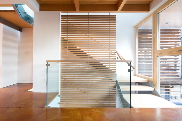 Interiors contemporary-staircase