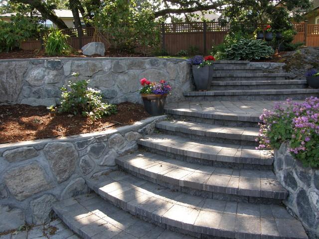 Interlock Paver Stairs