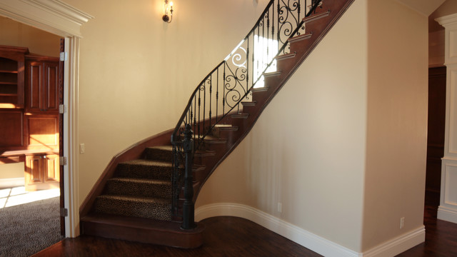 Iron Horse Ranch traditional-staircase