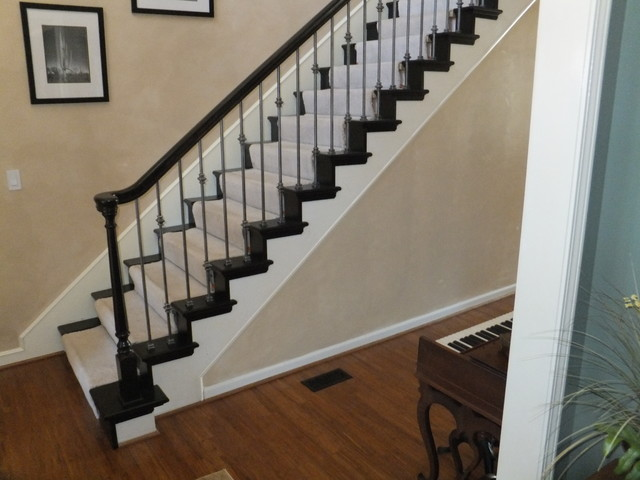 Iron Spindles - Antique Nickle, New Custom Wood End Caps and Wall Caps ...