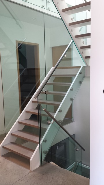 Iron Stairs contemporary-staircase