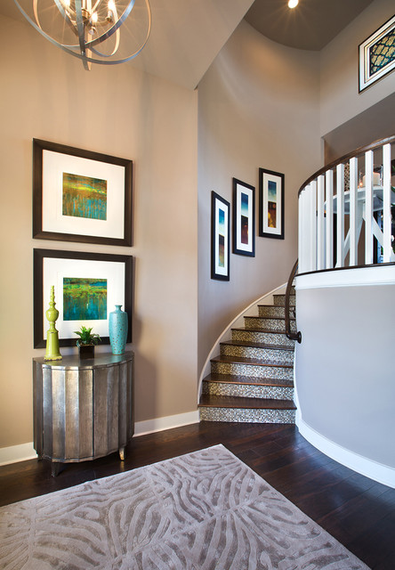 Jimmy Jacobs Custom Homes- Canyons at Scenic Loop traditional-staircase