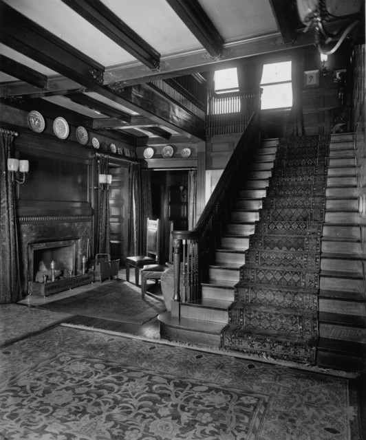 John j glessner house traditional staircase chicago - African american interior designers chicago ...