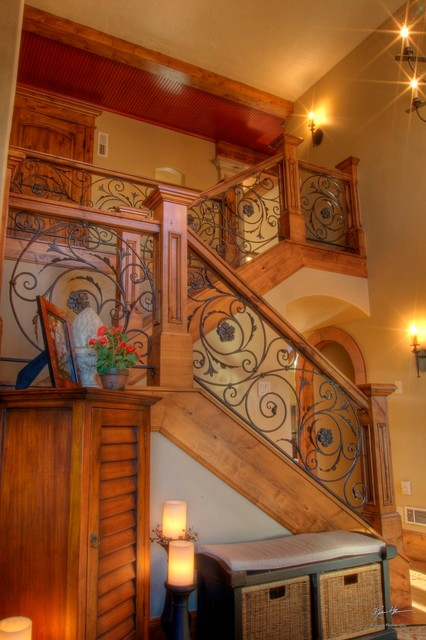 Johnson Remodel traditional staircase