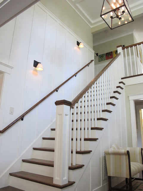 Joseph Farrell Architecture Farmhouse Staircase San