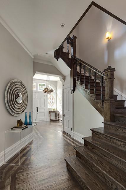Julia Buckingham Edelmann eclectic-staircase