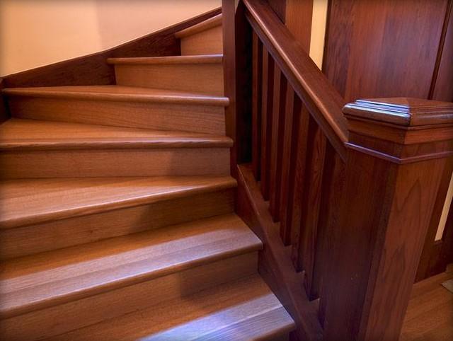 JULIA MORGAN RESTORATION traditional-staircase