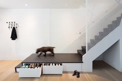 Просто фото: Длинная ступенька лестницы