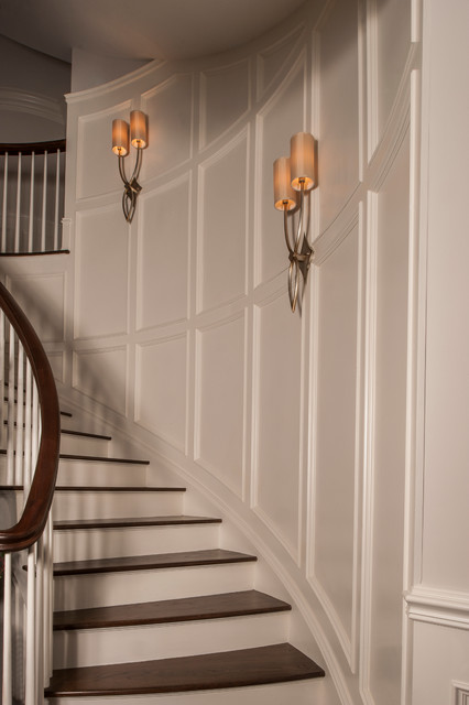 JWH Construction Management Millwork traditional-staircase