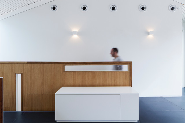 k house modern-staircase